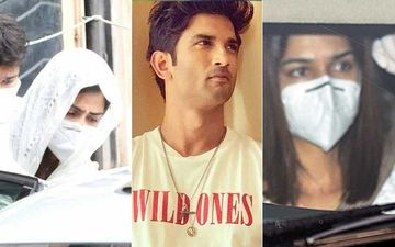 Sushant Singh Rajput Funeral: Netizen Praise Kriti Sanon-Rhea For Being Present; Say 'Long Essays On SM Doesn't Show Ur Concern'