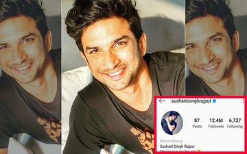 Sushant Singh Rajput Death: Instagram Memorializes SSR's Profile; Adds 'Remembering' Tag Above His Name