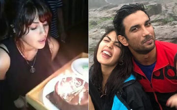 "Rhea Chakraborty Celebrates Her ""Happiest Birthday"" With Rumoured BF Sushant Singh Rajput - View Pics"