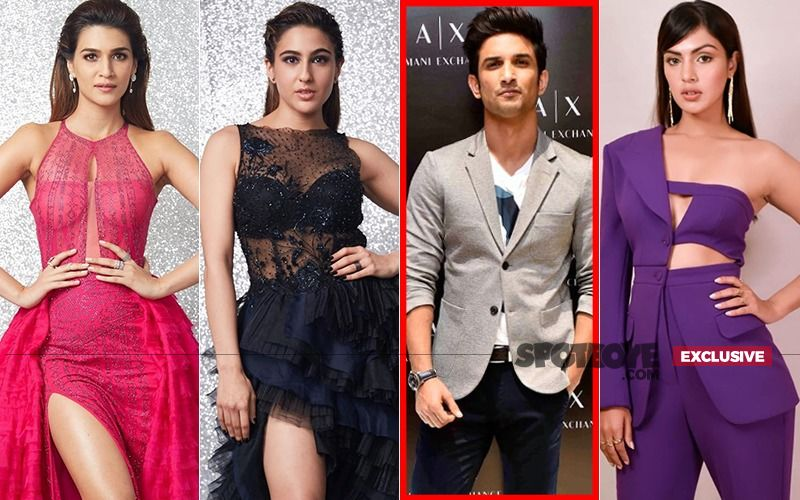 Sushant Singh Rajput Effect: Kriti Sanon, Sara Ali Khan, Rhea Chakraborty Give Each Other The Ignore Punch