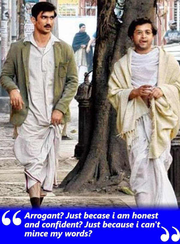 sushant singh rajput a still from byomkesh bakshi