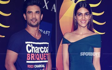 Sushant Singh Rajput & Kriti Sanon Sizzle At The IIFA 2017 Press Conference