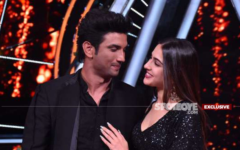 Sushant Singh Rajput And Sara Ali Khan's Dosti Getting Stronger By The Day, But Why Are They Pleading To The Paps?