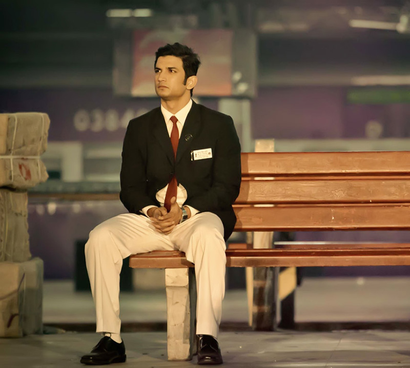 sushant singh rajput in ms dhoni the untold story