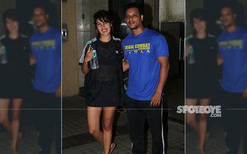 Sushant Singh Rajput's Stunning GF Rhea Chakraborty Gives  Her LBD An Athleisure Twist