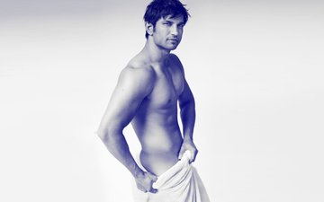 Sushant Singh Rajput Strips For Mario Testino's Towel Series