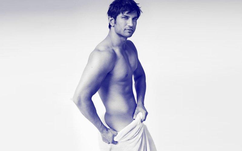 Sushant Singh Rajput Strips For Mario Testino's Towel Series