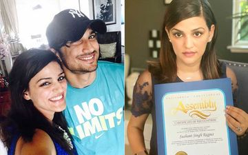 Sushant Singh Rajput Death: Actor Recognised By California Legislature Assembly For His Contribution To Indian Cinema; Sister Shares Pic
