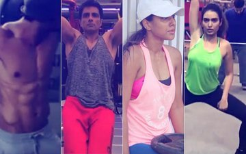 Workout Wednesday: Sushant Singh Rajput, Sonu Sood, Nia Sharma & Karishma Tanna Give You #FitnessGoals