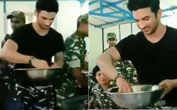 Sushant Singh Rajput Death: Late Actor Once Served Food To Indian Soldiers With His Own Hands, It's Truly Humbling- Throwback VIDEO