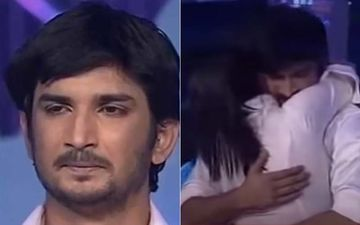 When Sushant Singh Rajput Was In Tears After An Emotional Tribute To His Late Mother And Ankita Lokhande Rushed To Hug Him – Video