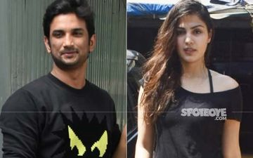 UNSEEN VIDEO Of Rhea Chakraborty And Sushant Singh Rajput Allegedly Smoking 'Rolled' Cigarettes Surfaces Amid Actress' Claims Of Never Having Used Drugs