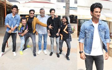 'Chhichhore' Boys Sushant Singh Rajput And Varun Sharma Gear Up For Promotions In Juhu