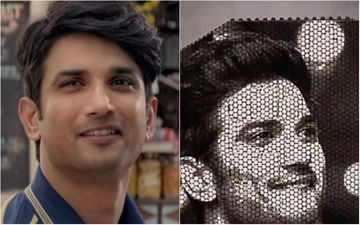 Sushant Singh Rajput's Fan Pays An Artistic Homage To The Late Actor And Creates His Face With Oreo Biscuits To Celebrate Dil Bechara's Success- WATCH