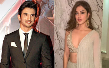 Put A Ring, Errr, Pendant On It? Sushant Singh Rajput's Customised Gift For Ladylove, Rhea Chakraborty