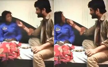 Sushant Singh Rajput Death: Actor Lovingly Feeding A Little Girl On Sets Of Sonchiriya Will Leave You Overwhelmed And Emotional- Throwback VIDEO
