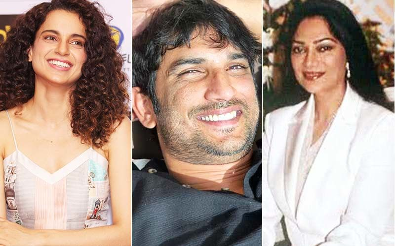 Simi Garewal Angered Over Those Exploiting Sushant Singh Rajput's Death; Says 'I'm Disgusted' When Reminded Of Her Support To Kangana Ranaut