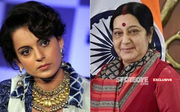 Sushma Swaraj Passes Away: Kangana Ranaut Says The Nation Has Lost An Icon Of Woman Empowerment: EXCLUSIVE