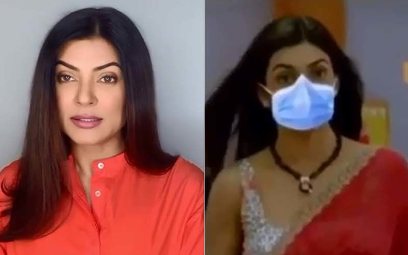 Mask Hai Na: Sushmita Sen And SRK's Iconic Film Gets A Coronavirus Safe Makeover And It's Hilarious - VIDEO