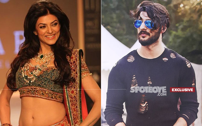 Sushmita Sen's Lover Rohman Wants To Be A Sen-sational Model; Girlfriend Presses On The Accelerator