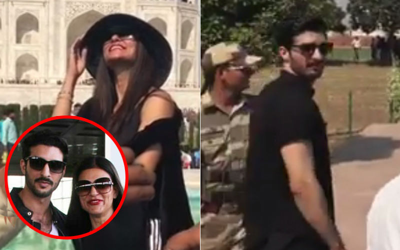 Sushmita Sen Takes New-Found Love Rohman Shawl To Taj Mahal