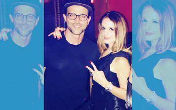 Sussanne Khan Celebrates Her Birthday With Ex-Husband Hrithik Roshan & Friends- View Pics!