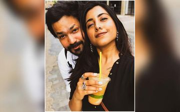 Suvrat Joshi And Sai Gokhale Spend Quality Time Together Riding Together On The Streets Of London