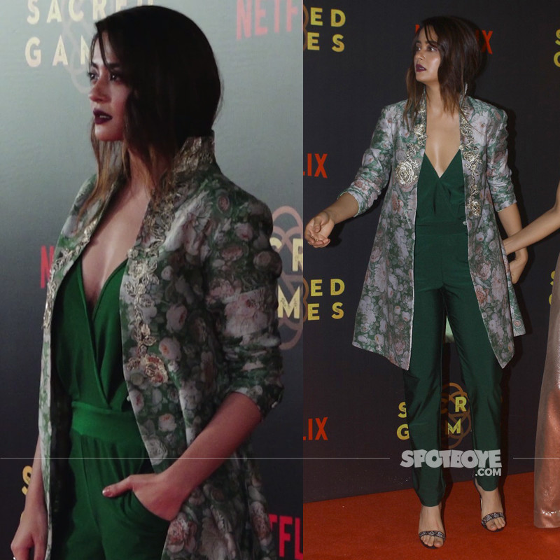 suvreen chawla at the sacred games premiere