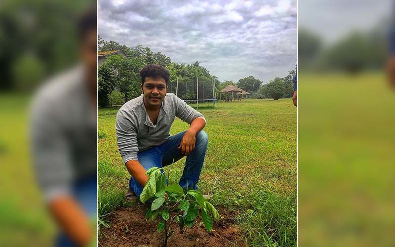 Marathi Actor Suyash Tilak Enjoys A Nature Trail Riding On A Bicycle In The Woods