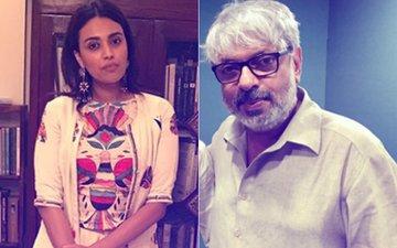 """I Felt Like A Vagina"", Swara Bhasker SLAMS Sanjay Leela Bhansali for Glorifying Sati & Jauhar In Padmaavat"