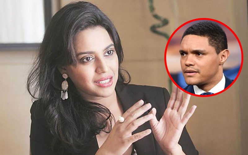 "Swara Bhasker Bashes South African Comedian Trevor Noah, Says, ""War Isn't Funny Or Entertaining, Human Lives Were Lost"""