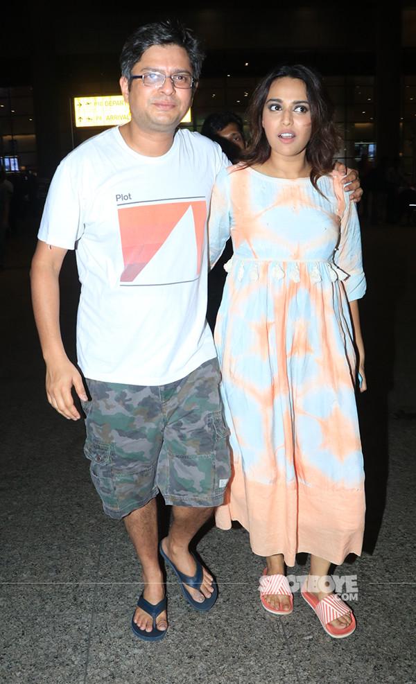 swara bhasker with boyfriend himanshu sharma