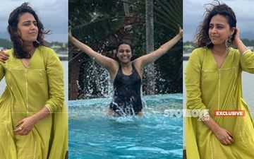 Swara Bhasker Destresses After Her Break-Up With Himanshu, Swims In The Waters And Basks Under The Sun Of Kanyakumari. More EXCLUSIVE Pictures Inside