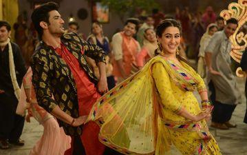 केदारनाथ के दूसरे गाने 'स्वीटहार्ट' में सुशांत सिंह राजपूत ने किया सारा अली खान के लिए अपना प्यार जाहीर