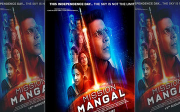 Mission Mangal Poster Revealed: Akshay Kumar, Vidya Balan & Sonakshi Sinha Relive A Story Of The Underdogs