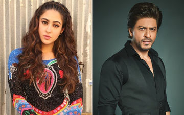 "Sara Ali Khan Addresses Shah Rukh Khan As ""Uncle"", Fans Of The Star Express Outrage"