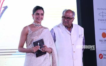 Boney Kapoor And Deepika Padukone Launch A Book On Life Of Sridevi- SEE PICS