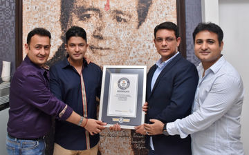 T-Series' Bhushan Kumar Receives Official Certificate From Guinness World RecordsTM For Becoming The First YouTube Channel To Reach 100 Million Subscribers