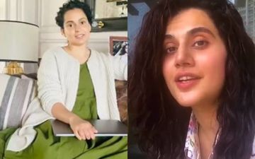 Team Kangana Ranaut Hits Back At Taapsee Pannu Once Again; 'LOL, Never Seen Someone So Rattled'