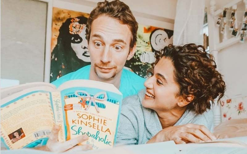 Taapsee Pannu Enjoys A Night Out With Her Boyfriend Mathias Boe; Latter Gives A Glimpse Of Dinner Date 'With The Pannus'