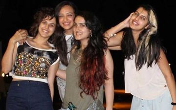Taapsee Pannu Remembers The Time When She Was Holidaying With Her Girls And 'God Pissed All Over' Their Plans