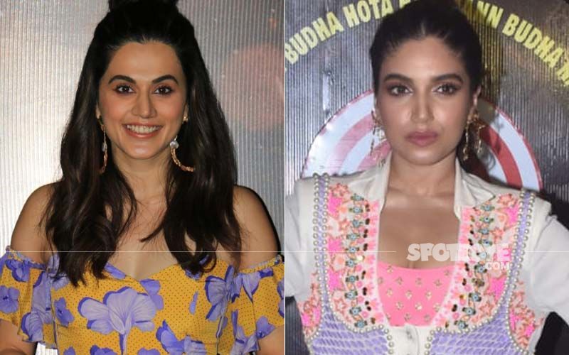 It is A Choice Between Taapsee Pannu And Bhumi Pednekar For Freedom Fighter Usha Mehta's Biopic, To Be Helmed By Ketan Mehta?