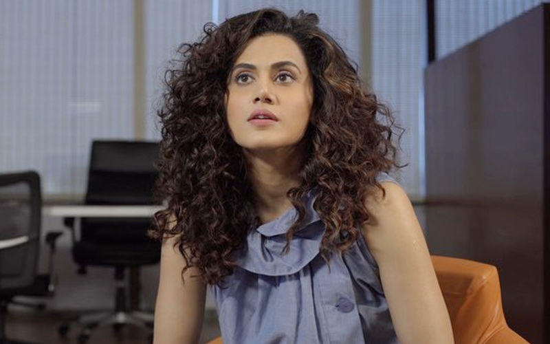 "Taapsee Pannu Blasts A Man Clicking Pictures Without Her Permission, Shouts ""Keep The Phone Inside Or Else Will Break It"""
