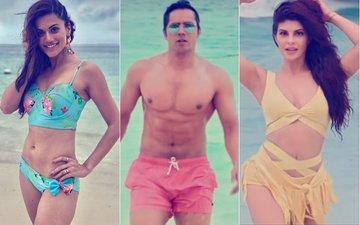 Judwaa 2 Song Aa Toh Sahi: Bikini-Clad Taapsee Pannu-Jacqueline Fernandez & Varun Dhawan's Washboard Abs Steal The Show