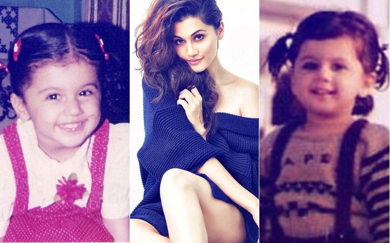 Birthday Special: Taapsee Pannu's Childhood Pics Go Viral As She Turns 29