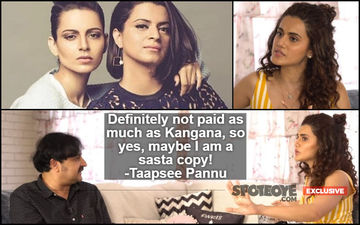 "Taapsee Pannu's Counter-Reply To Rangoli: ""Kangana Is A Great Actress, Being Her Sasta Or Mehenga Copy Is A Compliment""- EXCLUSIVE"