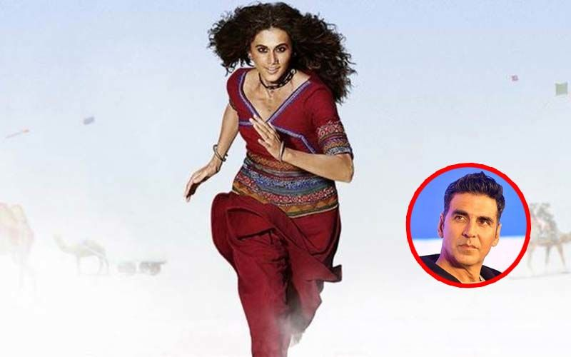 Rashmi Rocket Motion Poster: Akshay Kumar Unveils Taapsee Pannu's First Look As A Feisty Gujarati Athlete