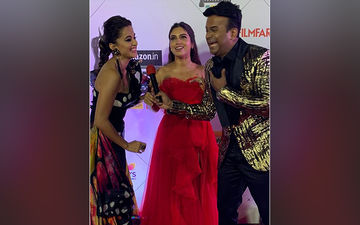 Filmfare Awards 2020: Bhumi Pednekar And Taapsee Pannu Laugh And Giggle On The Red Carpet