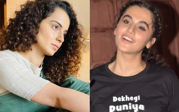 Taapsee Pannu Has A Good Laugh Over Kangana Ranaut's Old Clip Where She Lauded Gully Boy That She Now Finds 'Waahiyat'