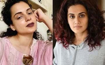 After Kangana Ranaut's Team Slams Taapsee Pannu Calling Her 'Chaploos', Latter Posts About 'Bitter People': 'Pray For Their Maturity'